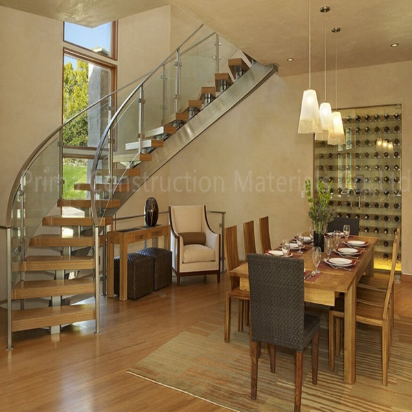 Styling A Staircase: New Style Curved Staircase
