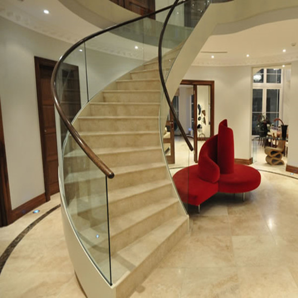 Morden Curved Marble Staircase