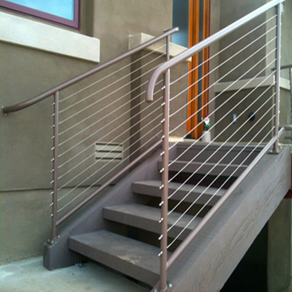 Stainless Steel Wire Raiing Cable Balustrade Tension Wire Railings