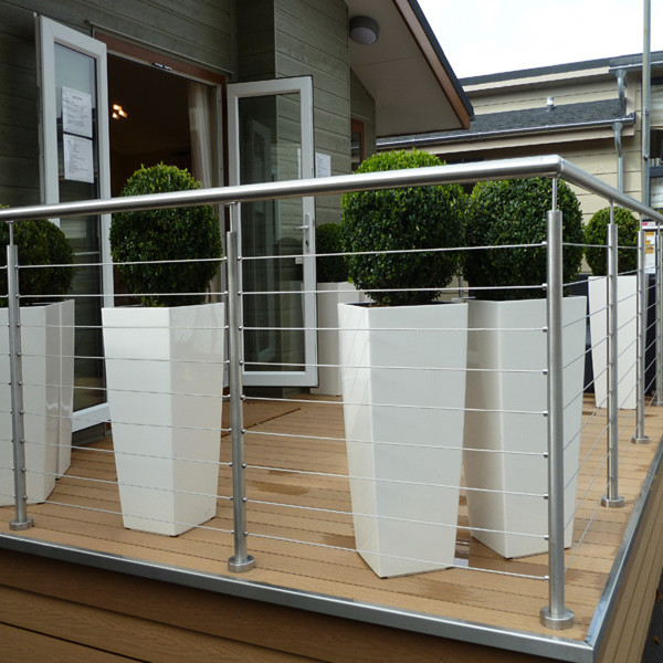 Outdoor Stainless Steel 304 316 Cable Railing Design