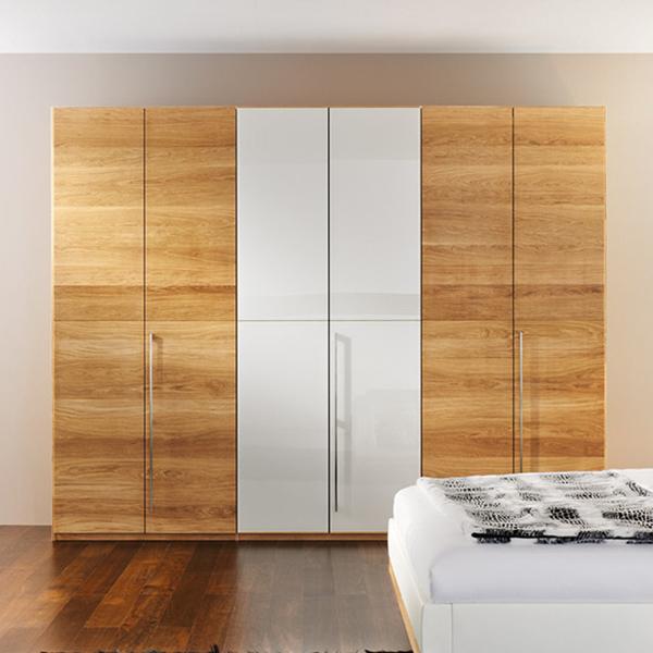 Bedroom Furniture Pvc And Melamine Wardrobe