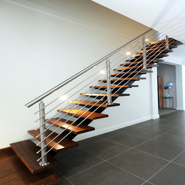 Indoor stainless steel rod railing