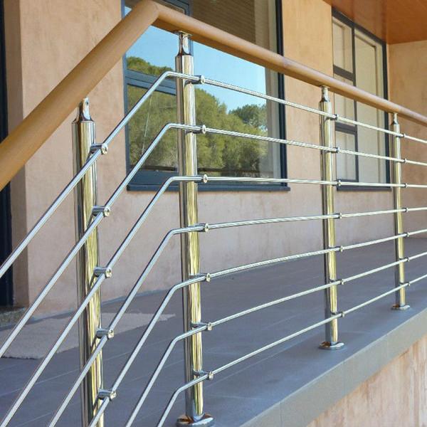 Easy Install Stainless Steel Rod Railing Design