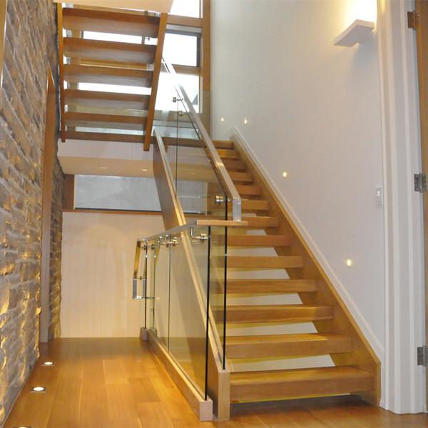 Modern Design Open Stringer Frameless Glass Handrail