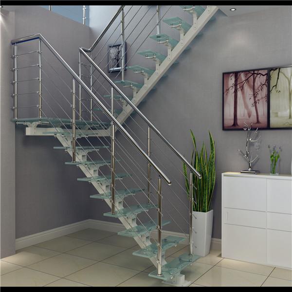 Aluminum Stair Stringers Modern Straight Staircase