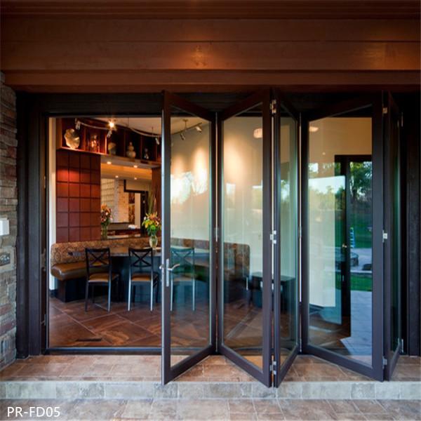 Outdoor Aluminum Folding Doors
