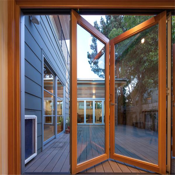 Low Cost Energy Efficient Aluminium Profile Folding Door