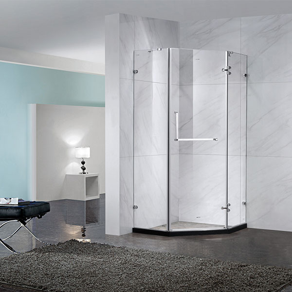 House Space Saving Glass Shower Enclosure