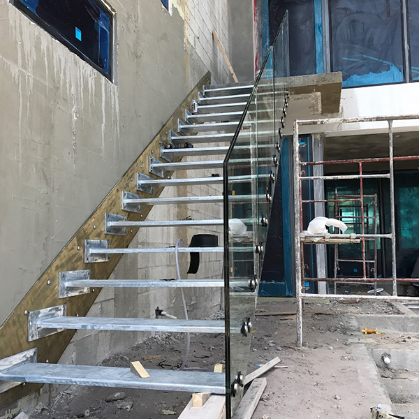 Glass Stairs Outdoor