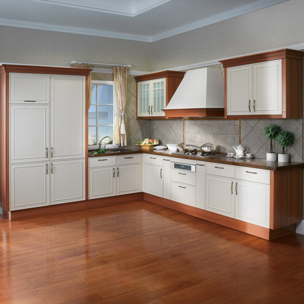Cheap Cabinets For Kitchen: Prima Cheap Price PVC Kitchen Cabinet