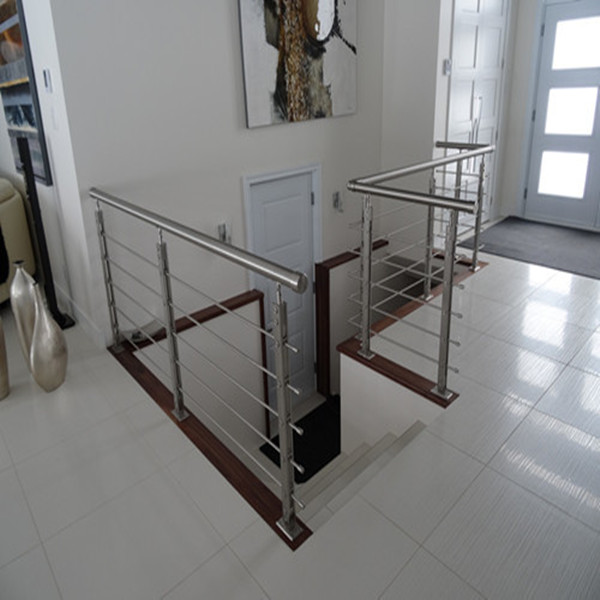 Glass Stair Railings Stainless Steel Outdoor Railing Parts Outdoor Railings  For Stairs PR B86