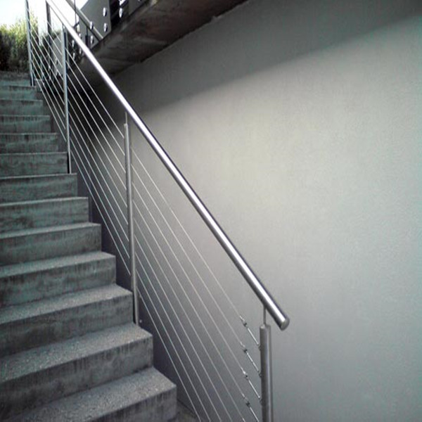 Stainless Steel Stair Handrail Cable Railing For Staircase