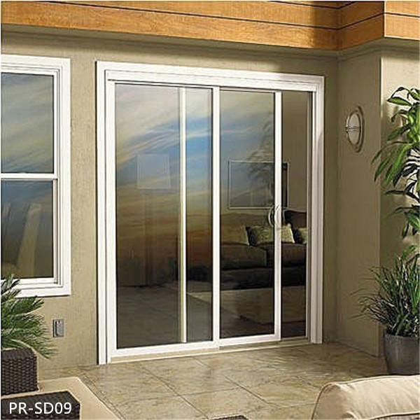 Aluminium Exterior Glass Grill Design House Sliding Door
